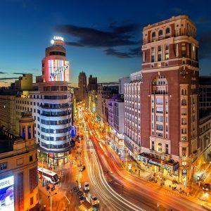 MADRID-CALLE-GRAN-VIA-DE-NOCHE